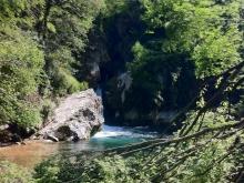 Il laghetto di San Benedetto a Subiaco