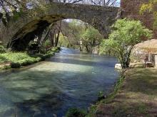 Il fiume Aniene nei pressi del Ponte di San Francesco