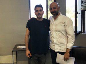 Antonio e lo Chef Niko Romito